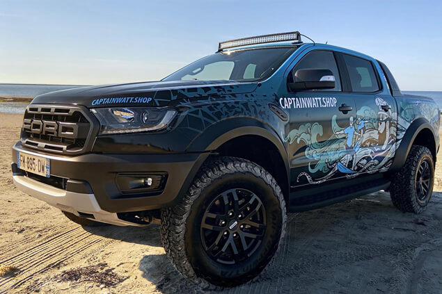 Covering du Ford Raptor de Captain'Watt