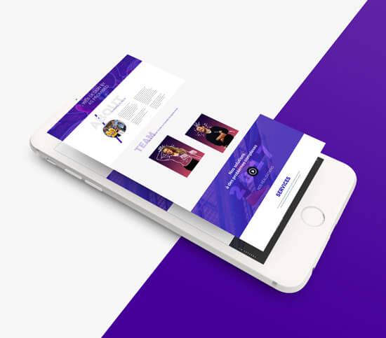 Service de Web Design Agence Web As Promised