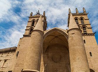 Cathédrale Montpellier création de site internet