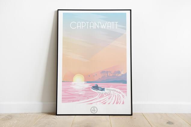 Développement plateforme e-commerce Captain'Watt